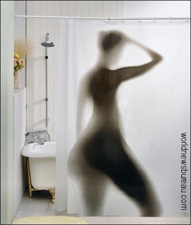 Michelle Obama in shower