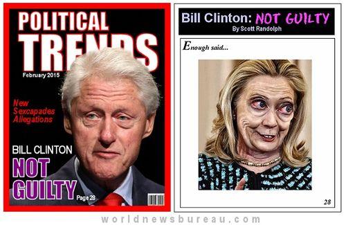Bill Clinton Not Guilty