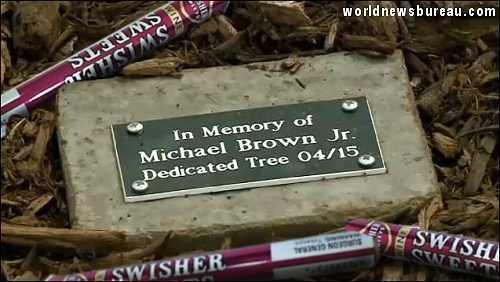 Mike Brown Tree Plaque