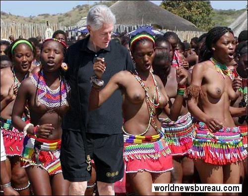 Bill Clinton in Tanzania
