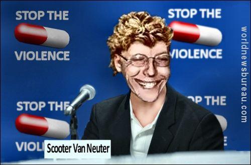 Scooter Van Neuter Stop The Violence