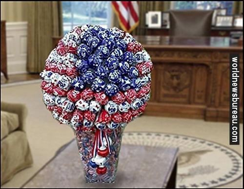 Iranian present to Obama