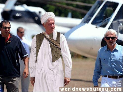 Bill Clinton in Syria