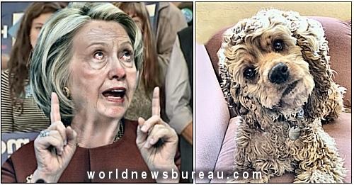 Hillary Clinton Barking