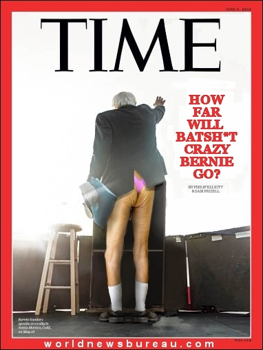 Bernie Sanders - Time Magazine Cover