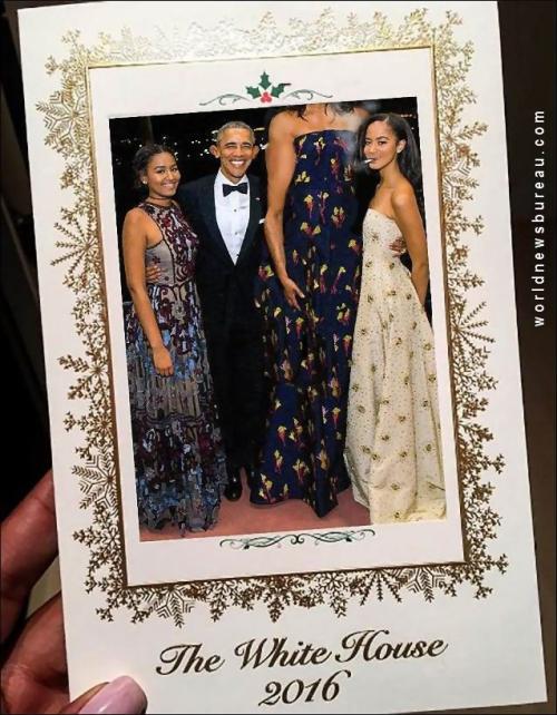 2016 White House Christmas Card