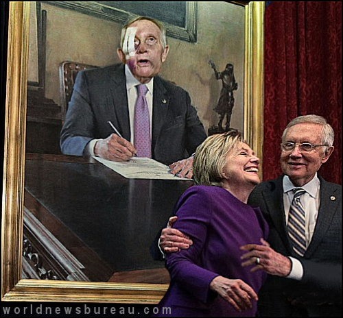 Harry Reid portrait