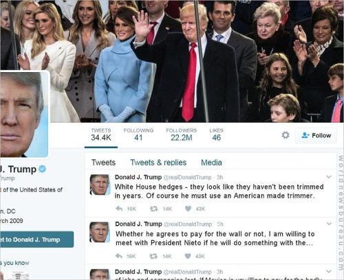 Trump Mexican Tweet