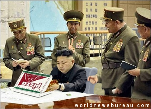 Kim Jong-un in war room