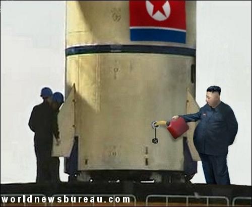 Kim Jong-un fuels missile