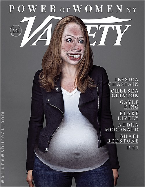 Chelsea Clinton Variety Cover
