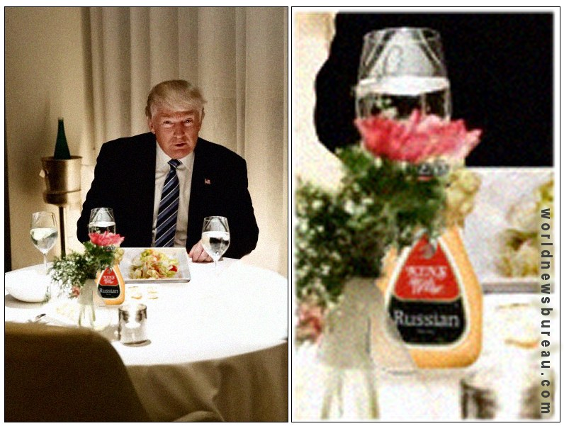 Trump with Russian