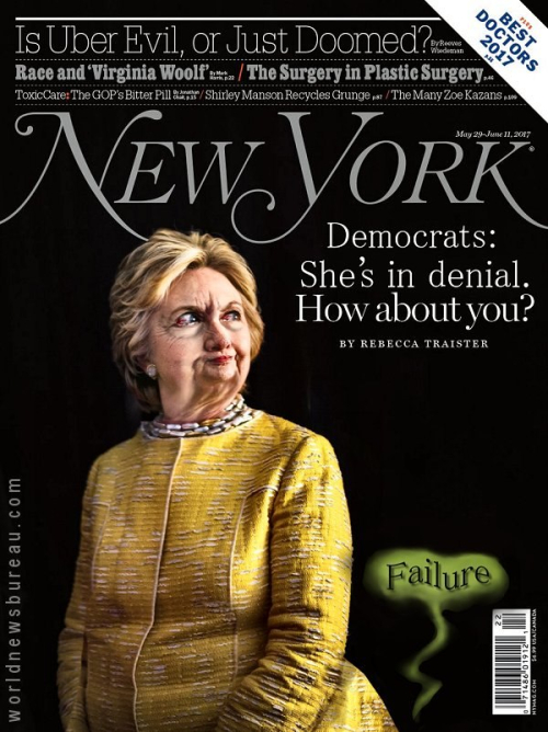Hillary Clinton New Yorker Cover