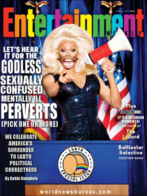 Entertainment Magazine LGBTQ Issue