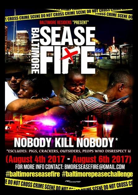 Baltimore Sease Fire Poster