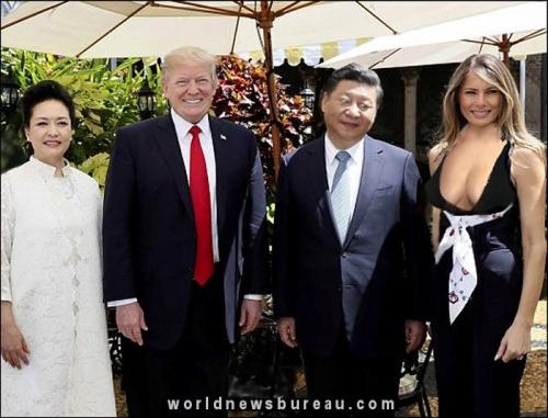 Trumps visit China