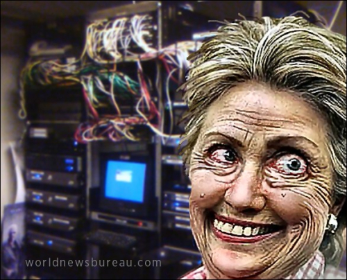 Hillary and her servers