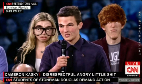 CNN Town Hall Idiot Kids