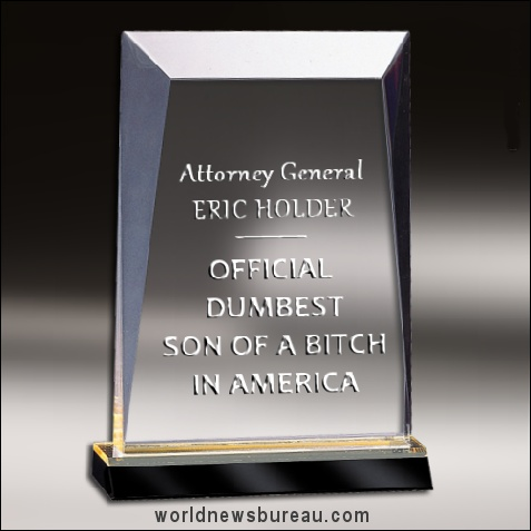 Worlds Dumbest SOB Award