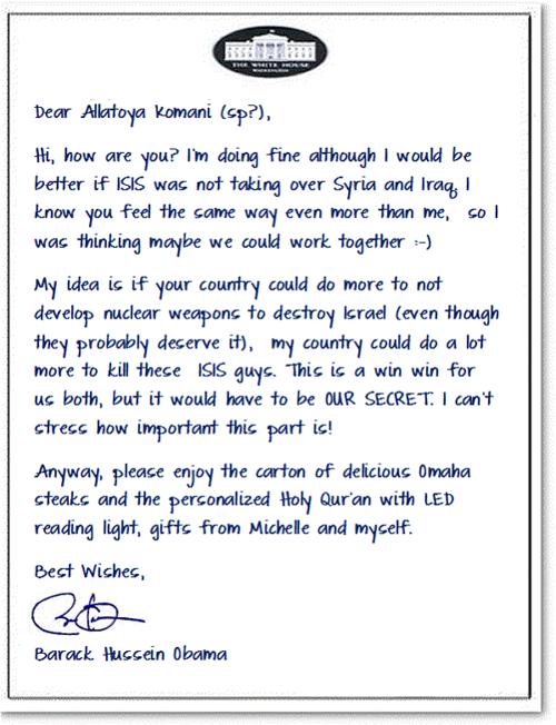 Obama Secret Iran Letter 2
