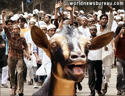Muslim riot