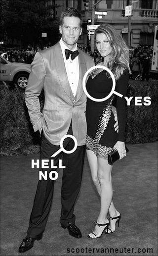 Tom Brady and wife
