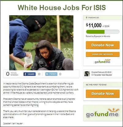 White House Jobs - ISIS