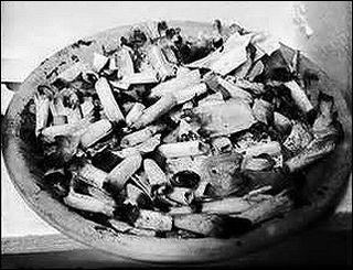 Our ashtray