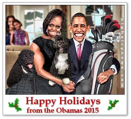 Obama 2015 Christmas Card