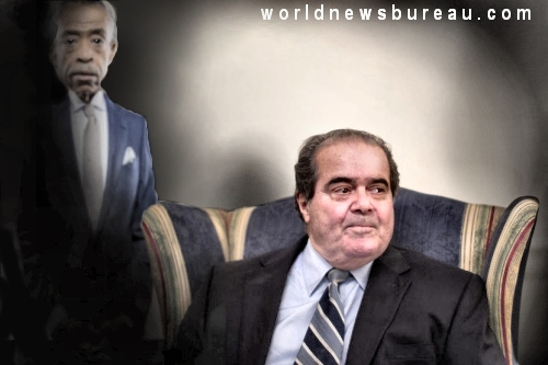 Last Photo of Antonin Scalia