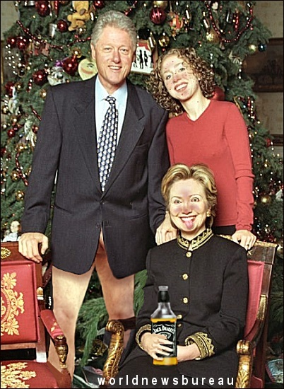 Clinton White House Christmas Card