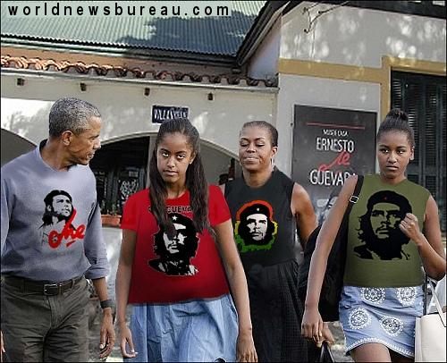 Obamas in Cuba