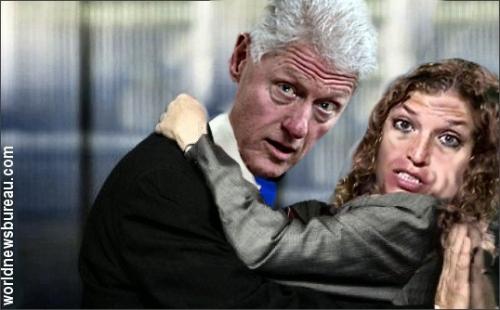 Bill Clinton & Debbie Wasserman Schultz