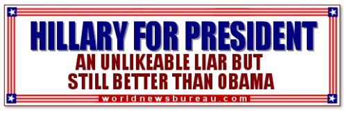 Hillary - Unlikeable Liar