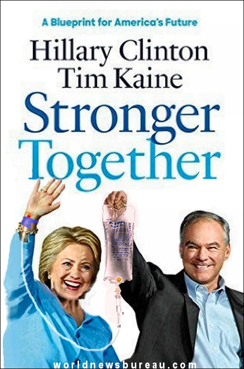Hillary Clinton Stronger Together Book