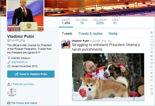 Putin Struggling With Obama Punishments