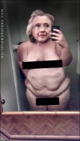 Hillary selfie