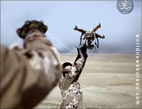 ISIS weapinized drone