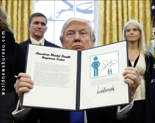 Trump signing executive order