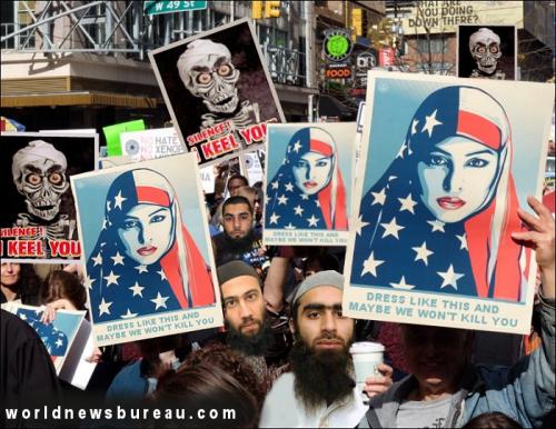 Muslim Trump Protest