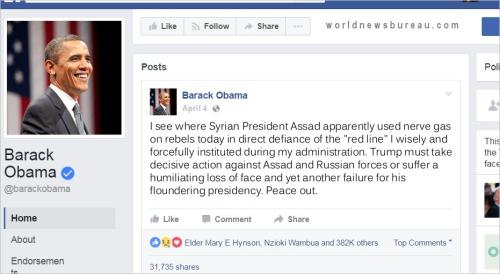Obama Trolls Trump