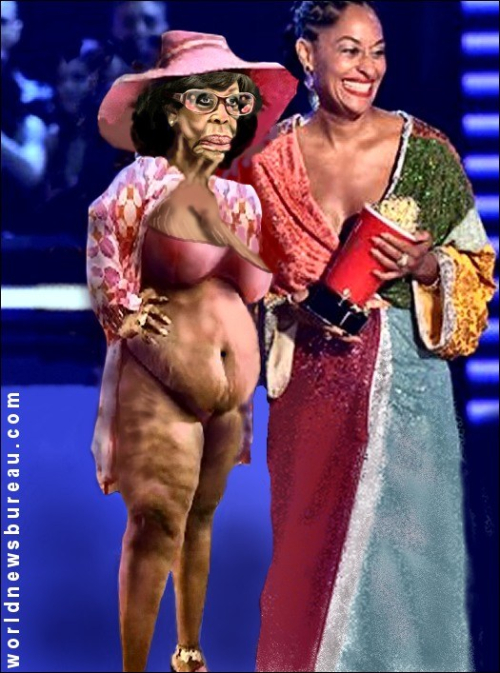 Maxine Waters at MTV Awards