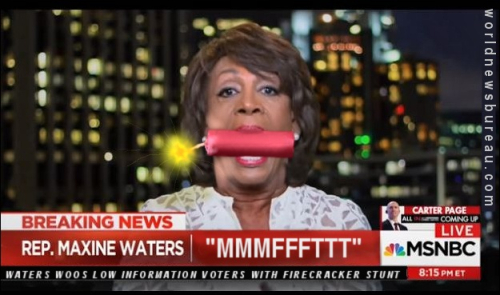 Maxine Waters 4th of July