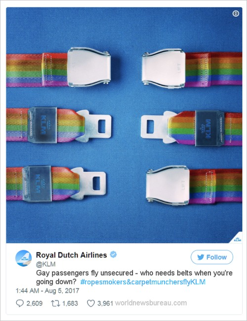Royal Dutch Air Gay Ad
