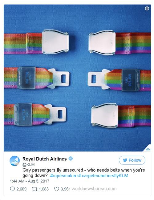 Royal Dutch Air Gay Ad