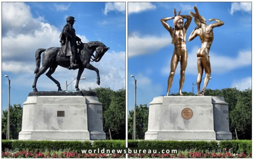 Robert E Lee Replacement Statue