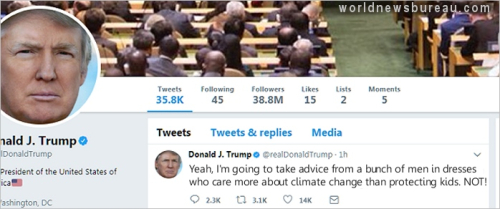 Trump Tweet To Pope