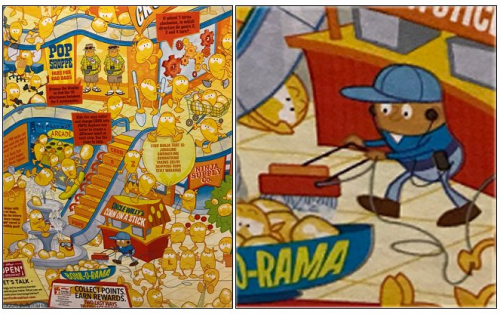 Original racist cereal box