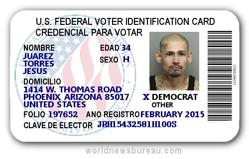 Federal Voter ID Card
