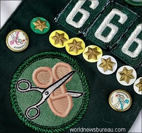 Girl Scout Transgender Badge